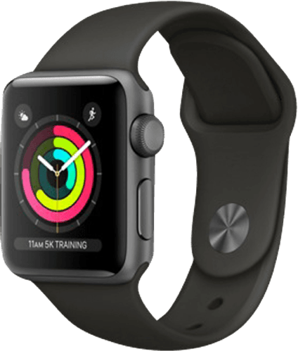 Spacegray Apple Watch Series 3 GPS, 38mm.1