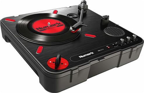 Numark Turntable PT01 Scratch.1