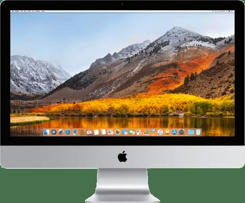 """Silber Apple iMac 21.5"""" Retina 4K.1"""
