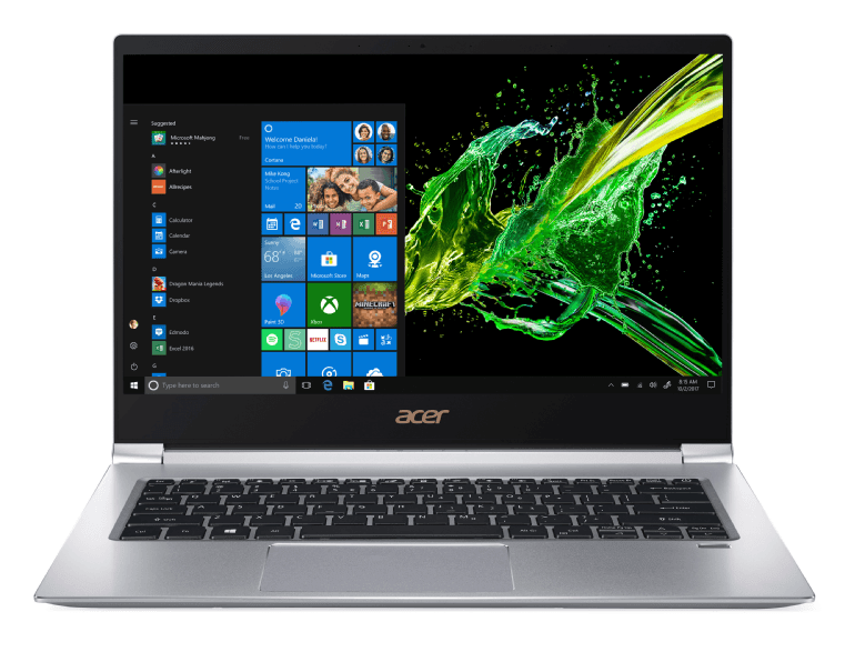 Silver Acer SF314-55-70VH.1