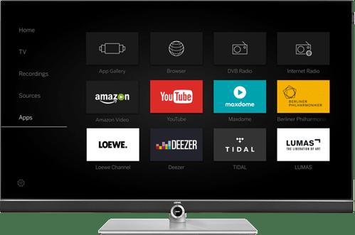Black Loewe TV Connect 48.1