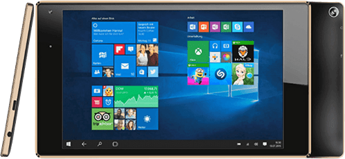 Gold ODYS Cosmo Win Gold Edition Tablet.1