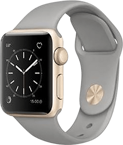 White Apple Watch Series 2, 38mm.1