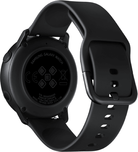 Black Samsung Galaxy Watch Active, 40mm.3
