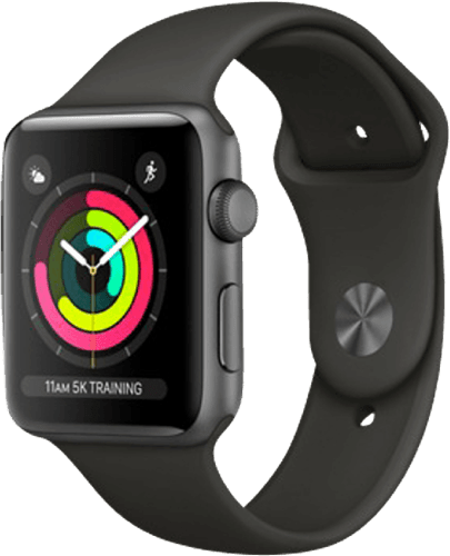 Space Grey Apple Watch Series 3 GPS, 42mm.1