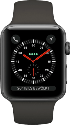 Space Grey Apple Watch Series 3 GPS, 42mm.2