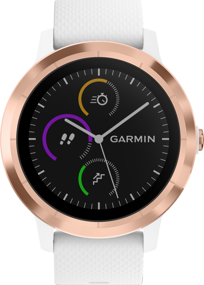 Rosegold GARMIN Vivoactive 3 White Rose Gold.1