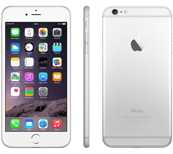 Silver Apple iPhone 6 Plus 64GB.1