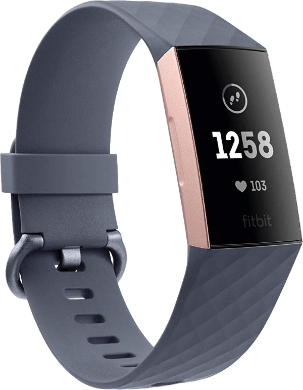 Rose Gold & Blue Grey Fitbit Charge 3.3
