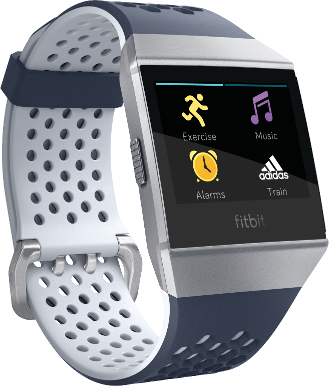 Inc Blue / Ice Grey Fitbit Ionic: Adidas Edition.4