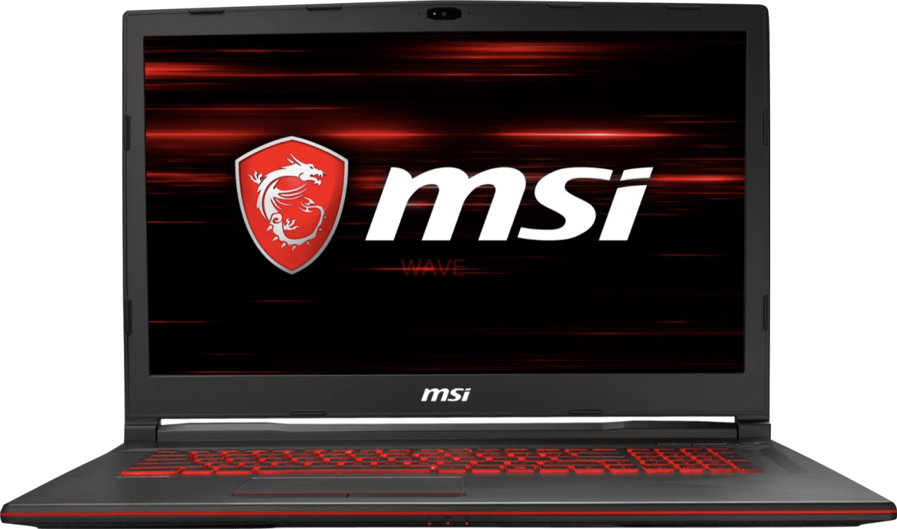 Black MSI GL73 8RE-402.1