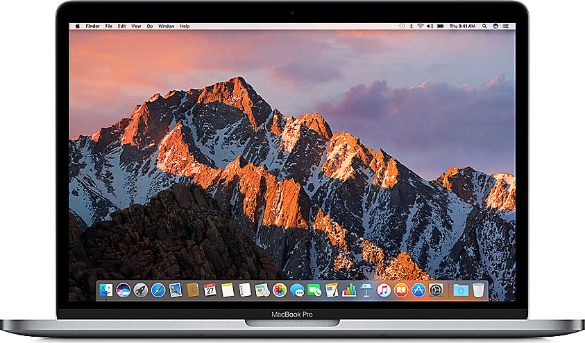 "Space Grau Apple MacBook Pro 13"" Touch Bar (Mid 2017).1"