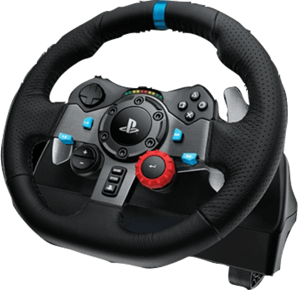 Black Logitech G29 Driving Force Racing.3