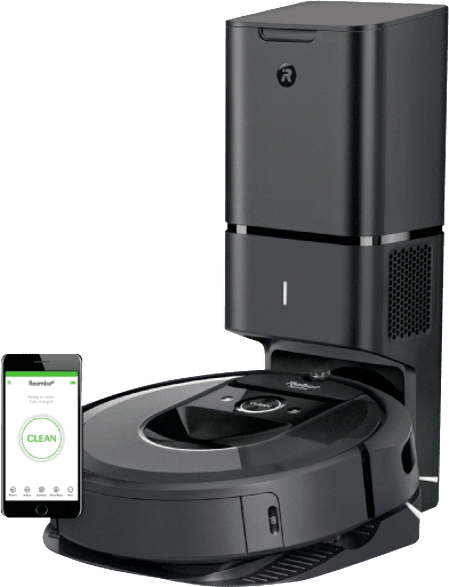 Black IROBOT Roomba i7 + (i7558).1