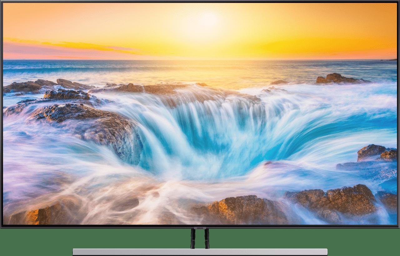 "Silber Samsung TV 55"" Q85R.2"