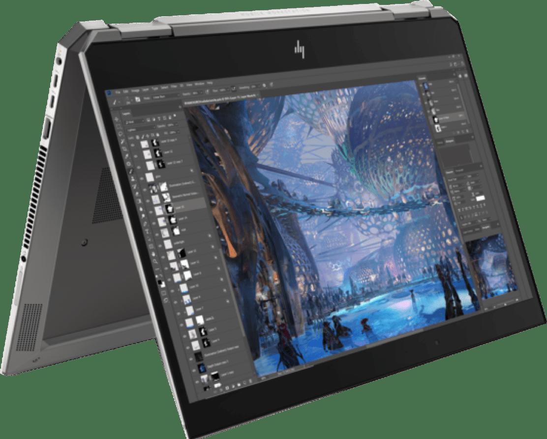 Silber / Schwarz HP ZBook Studio x360 G5.1