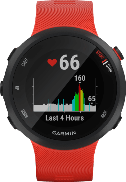 Red Garmin Forerunner 45.2