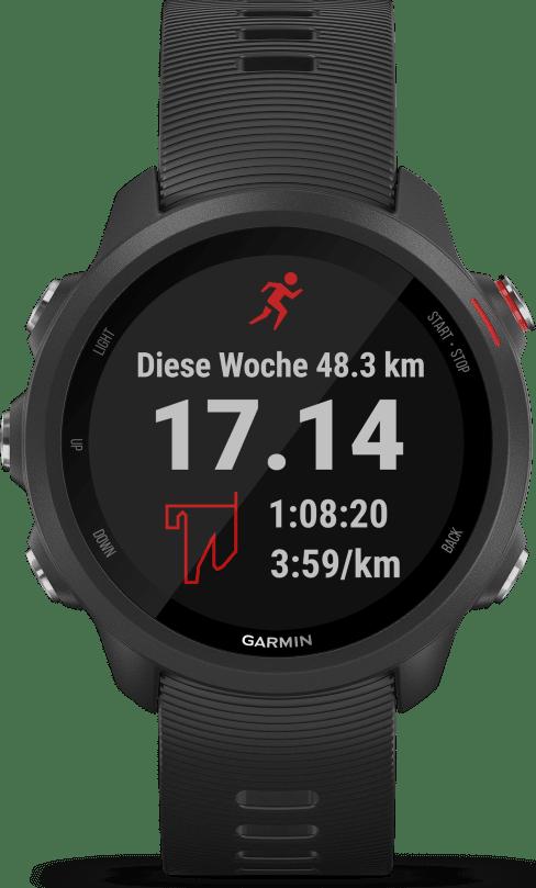 Black Garmin Forerunner 245 GPS Sports watch.1