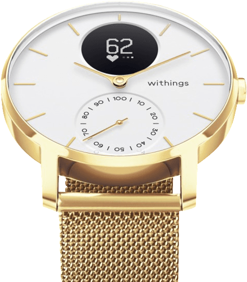 Champagne Gold Withings Steel HR Limited Edition, 200 mm.2