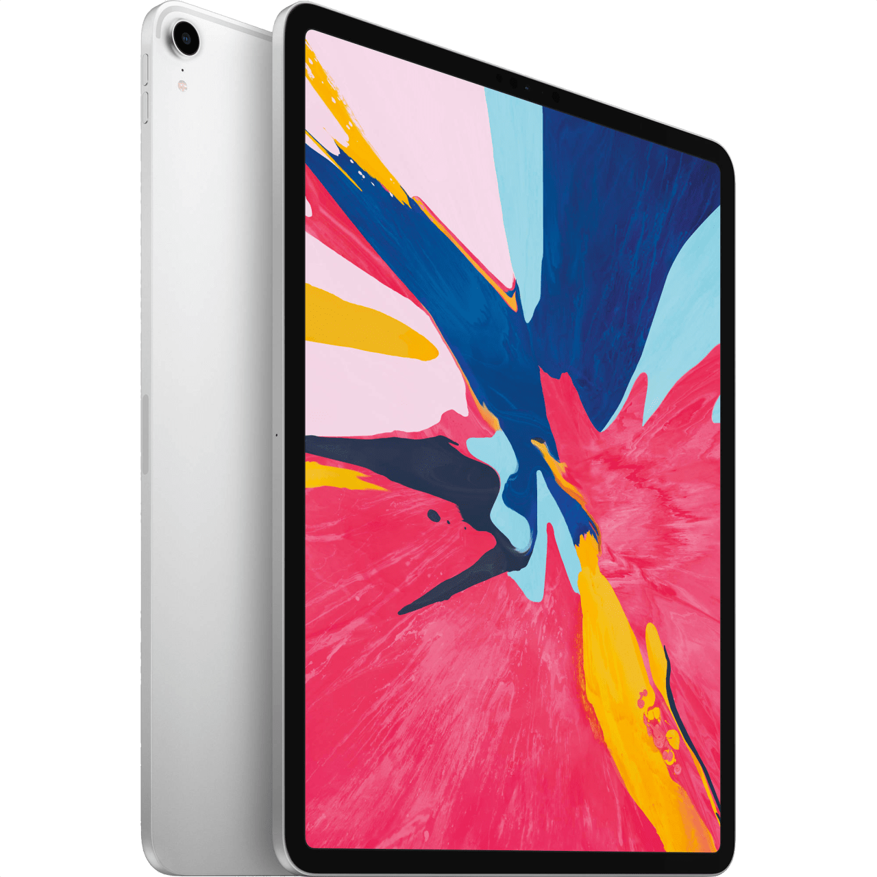 "Silver Apple 12.9"" iPad Pro Wi-Fi + Cellular (2018).1"