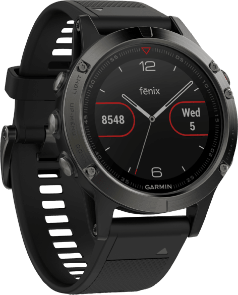 Slate Gray/Black Garmin Fēnix® 5, 235mm.2
