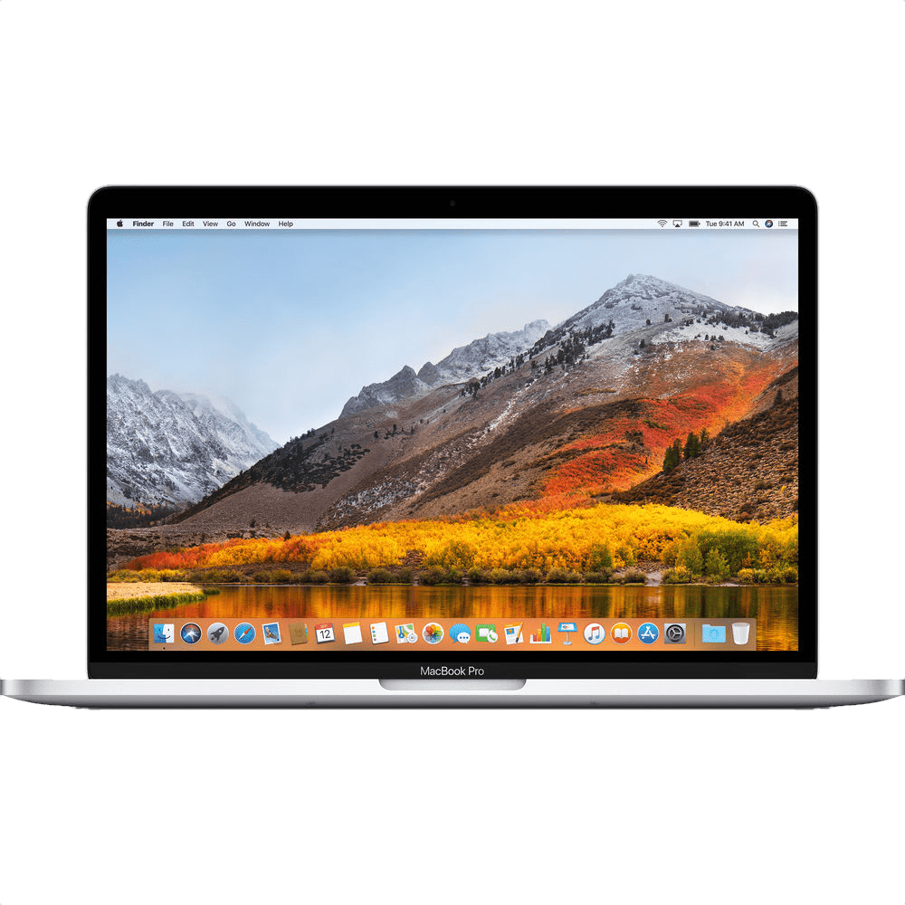 "Silver Apple 13"" MacBook Pro Touch Bar (Mid 2018).1"