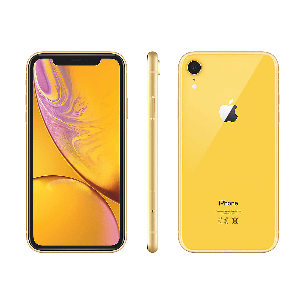 Yellow Apple iPhone Xr 128GB.2