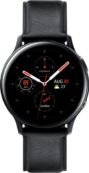 Black Samsung Galaxy Watch Active2, 40mm.1