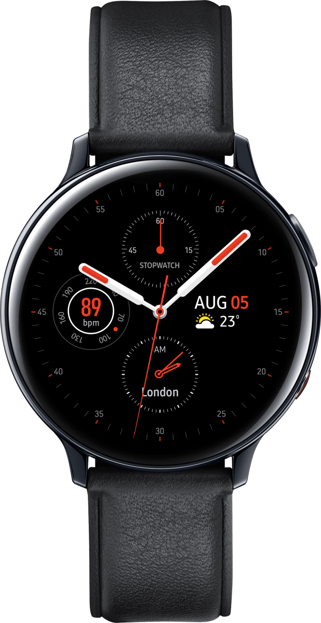 Schwarz Samsung Galaxy Watch Active2 (LTE), 44mm.1