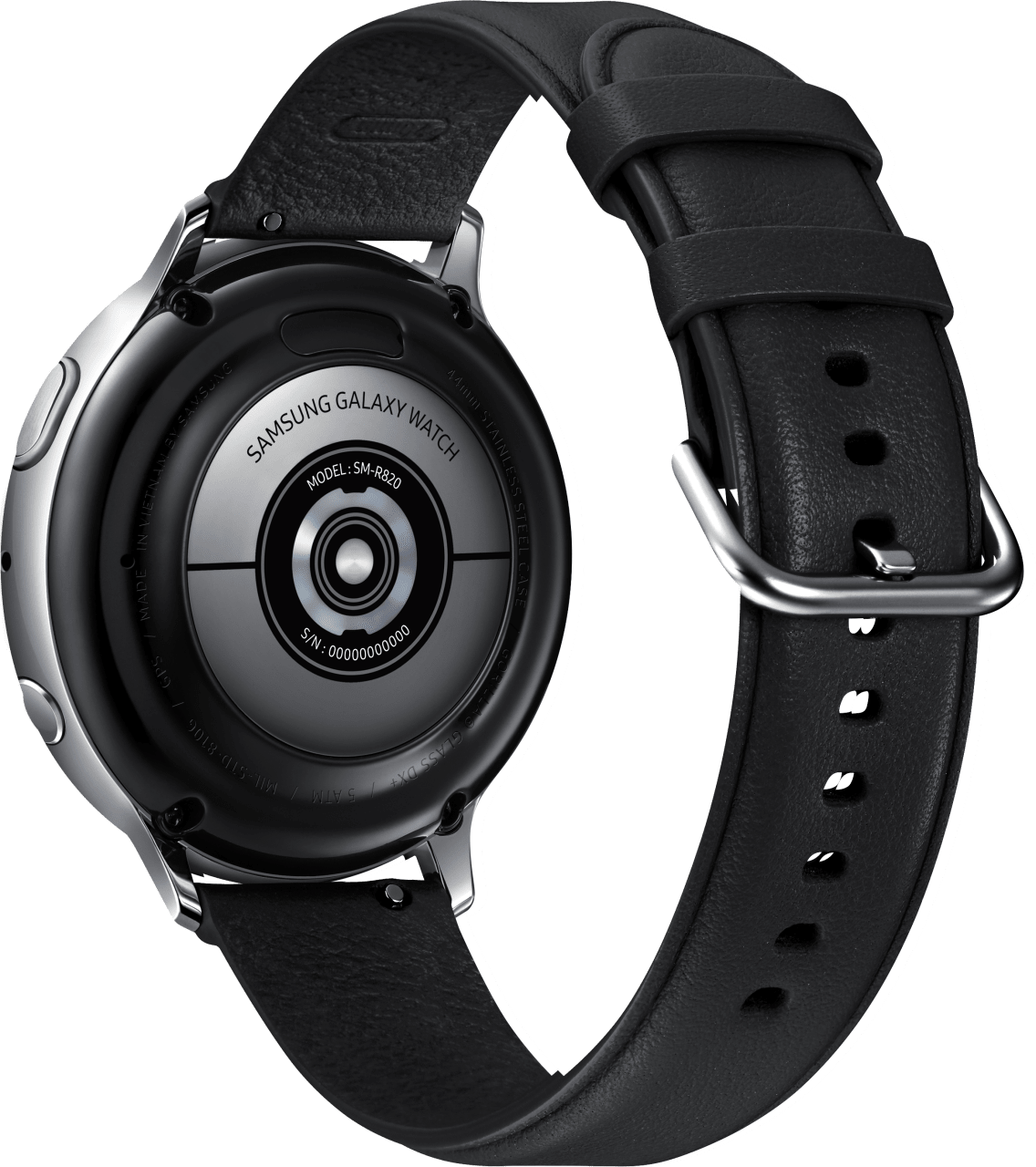 Silber Samsung Galaxy Watch Active2, 44mm.3