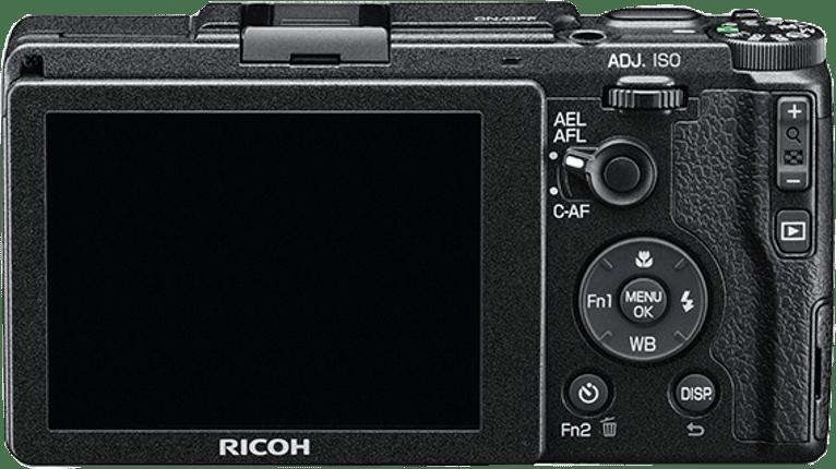 Schwarz Ricoh GR II.2