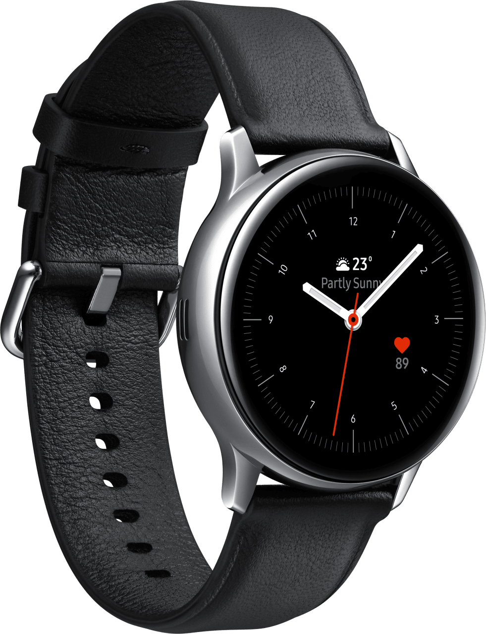 Silber Samsung Galaxy Watch Active2 (LTE), 40mm.2