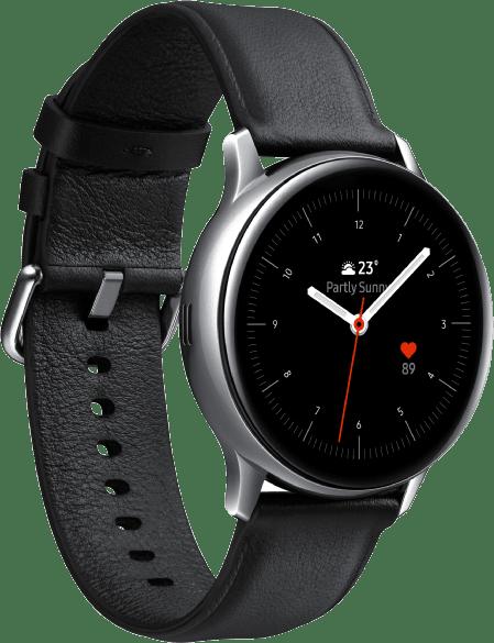 Silber Samsung Galaxy Watch Active2, 40mm.2