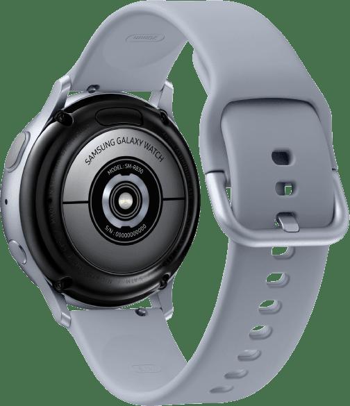 Cloud Silver Samsung Galaxy Watch Active2, 40mm Aluminium case, Sport band.3