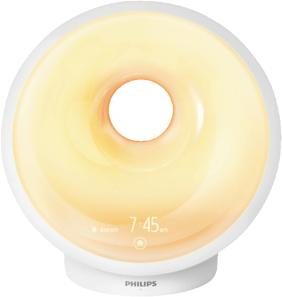 White Philips Connected Sleep & Wake-Up Light.1