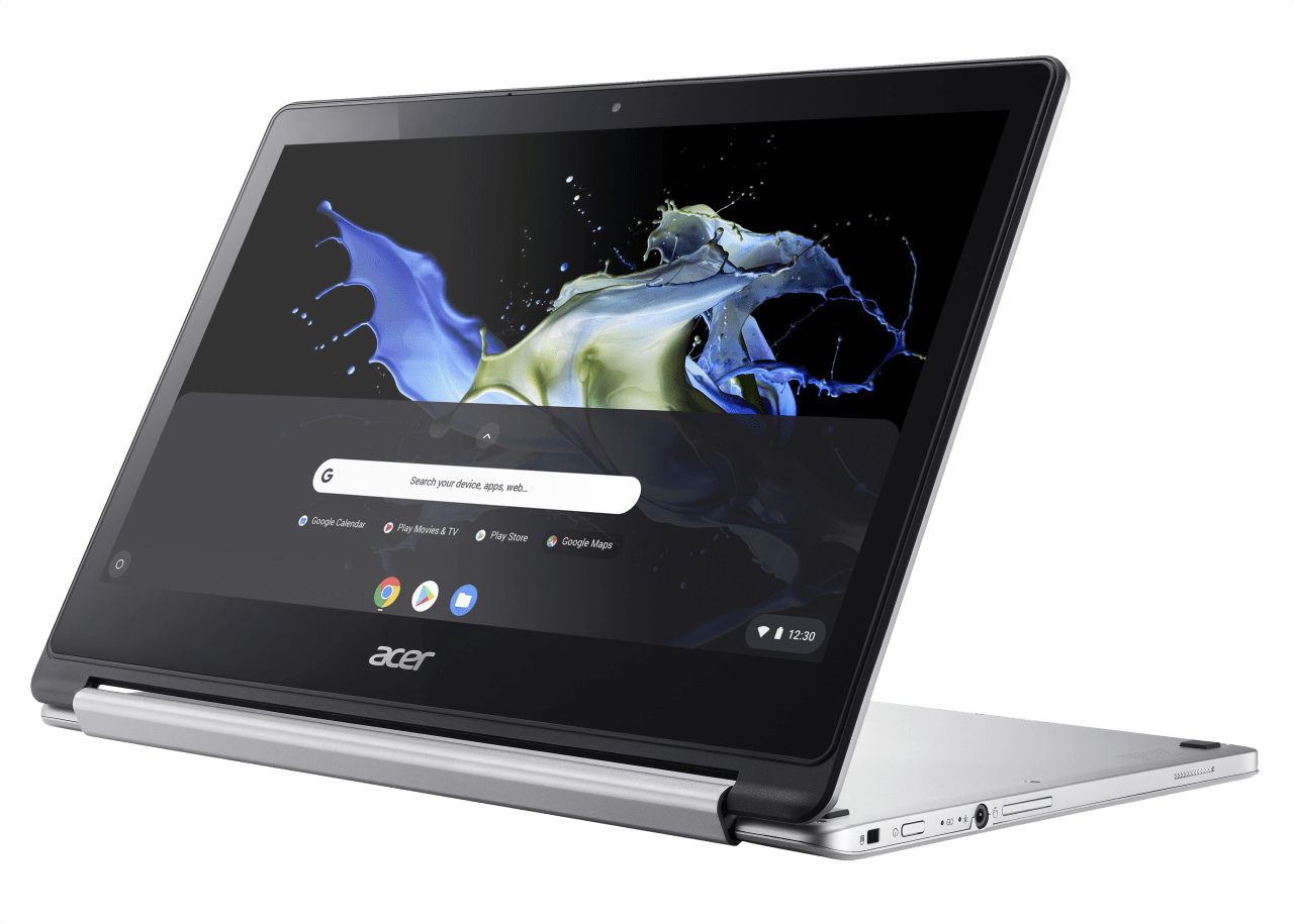 Silver Acer Chromebook R 13.2