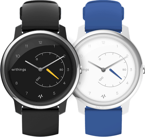 Black Withings Move ECG Fitness Watch, 38mm.4