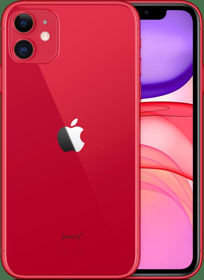 (PRODUCT)RED™ Apple iPhone 11 - 128GB - Single Sim.1
