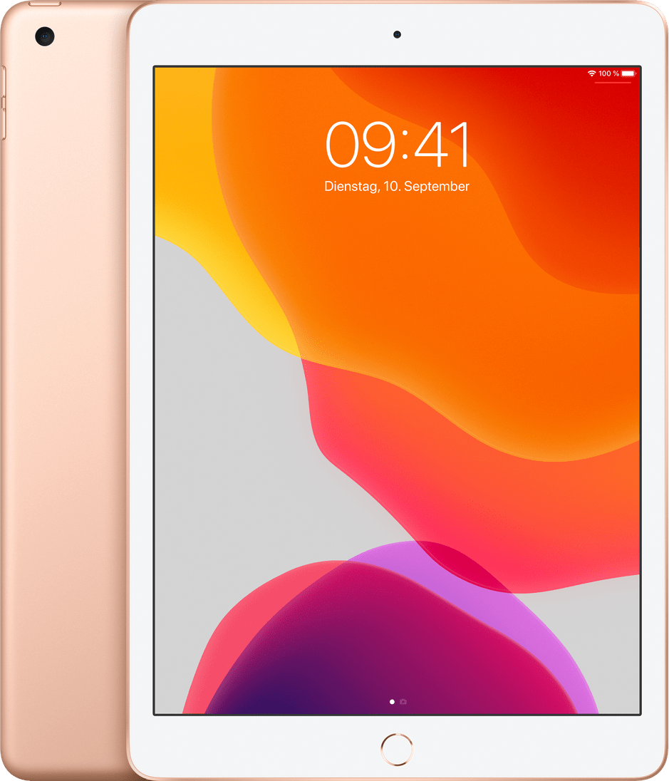 Gold Apple iPad (2019) Wi-Fi + Cellular 32GB.1