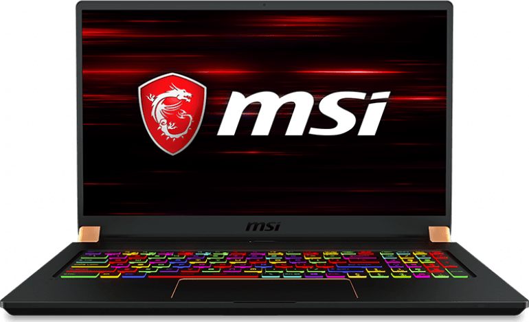 Black MSI Stealth GS75 9SE-278.1