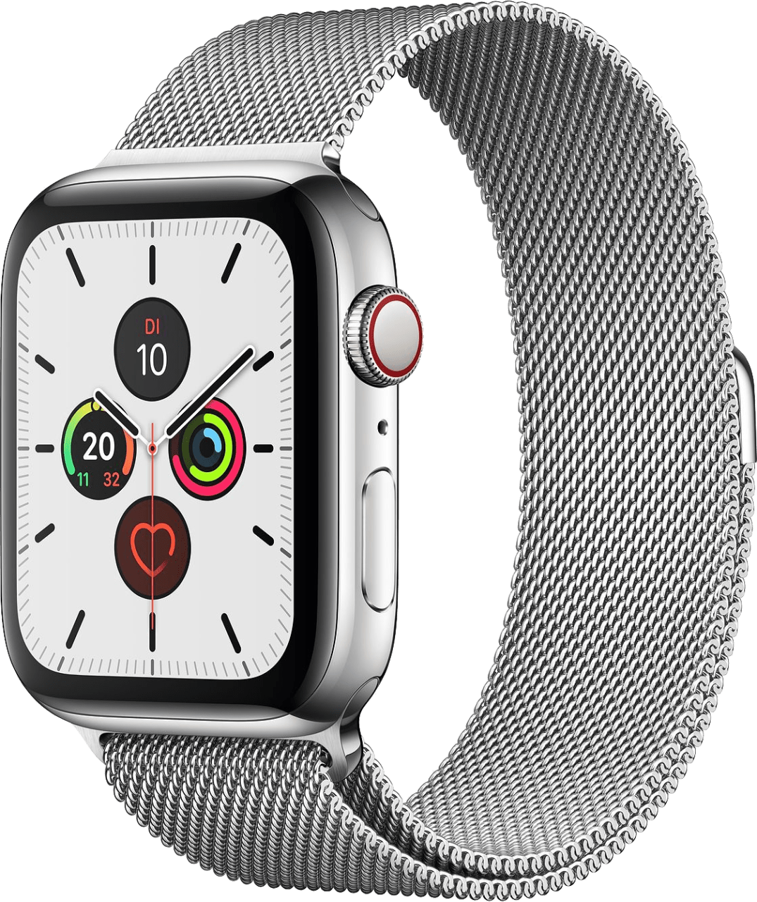 Silber Apple Watch Series 5 GPS + Cellular, 44mm.2