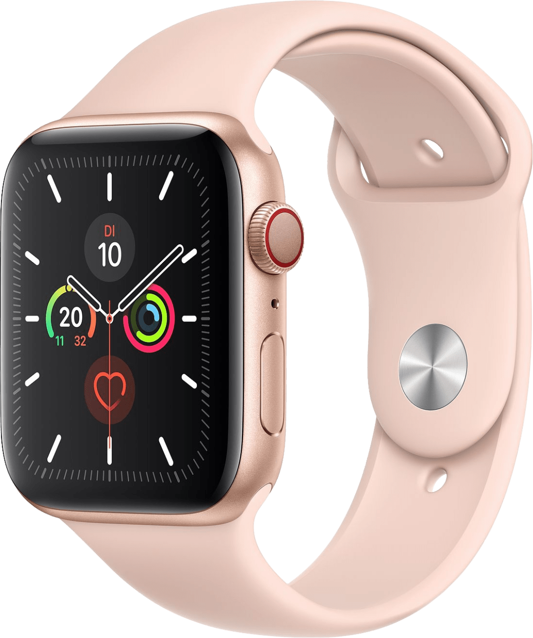 Sand Pink Apple Watch Series 5 GPS + Cellular, 44mm.2