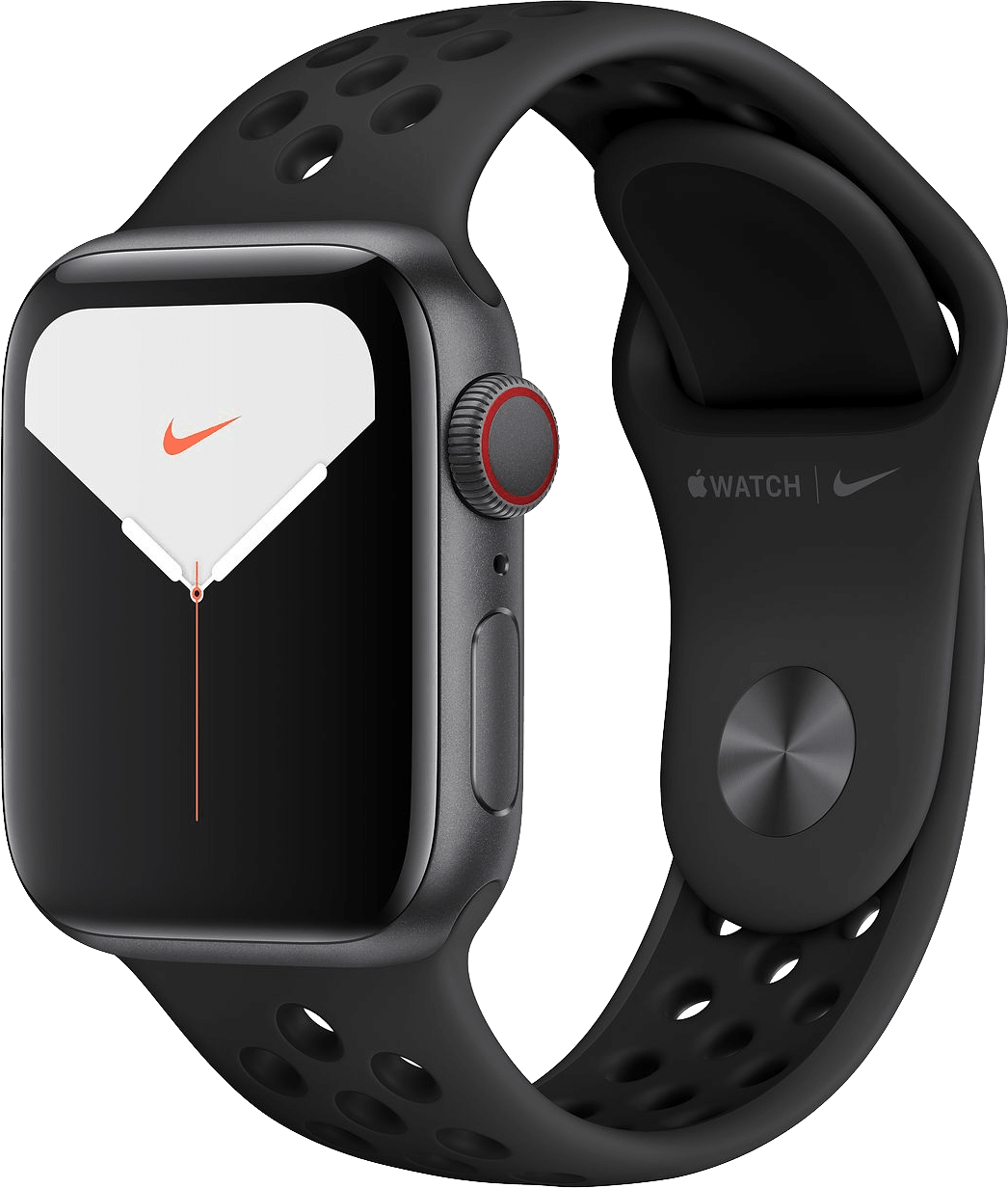 Anthracite / Schwarz Apple Watch Nike Series 5 GPS + Cellular, 40mm.2