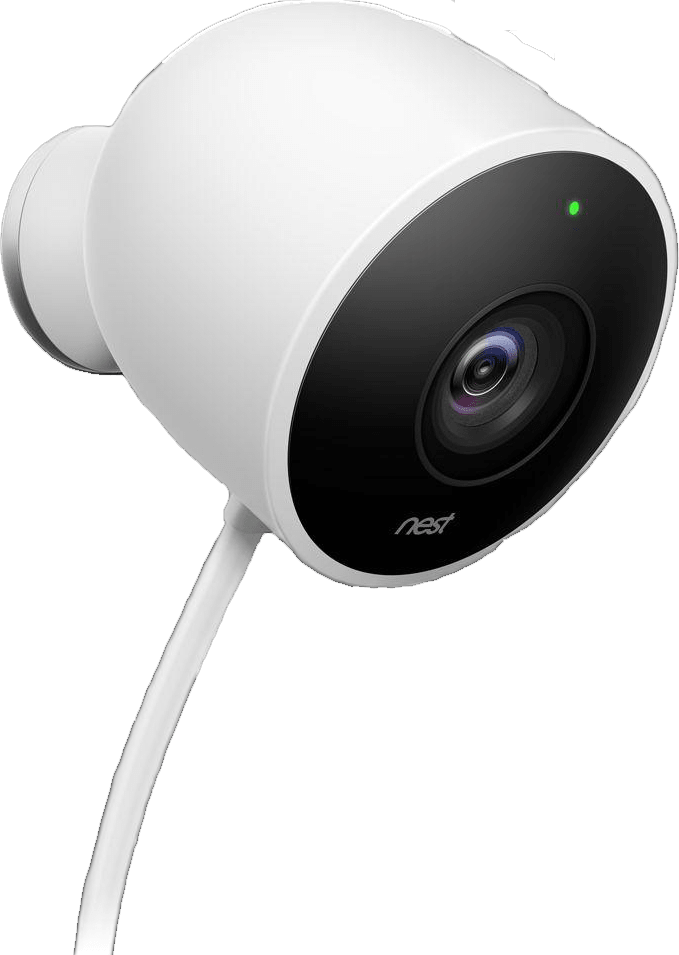 White Google Nest Outdoor Camera.1