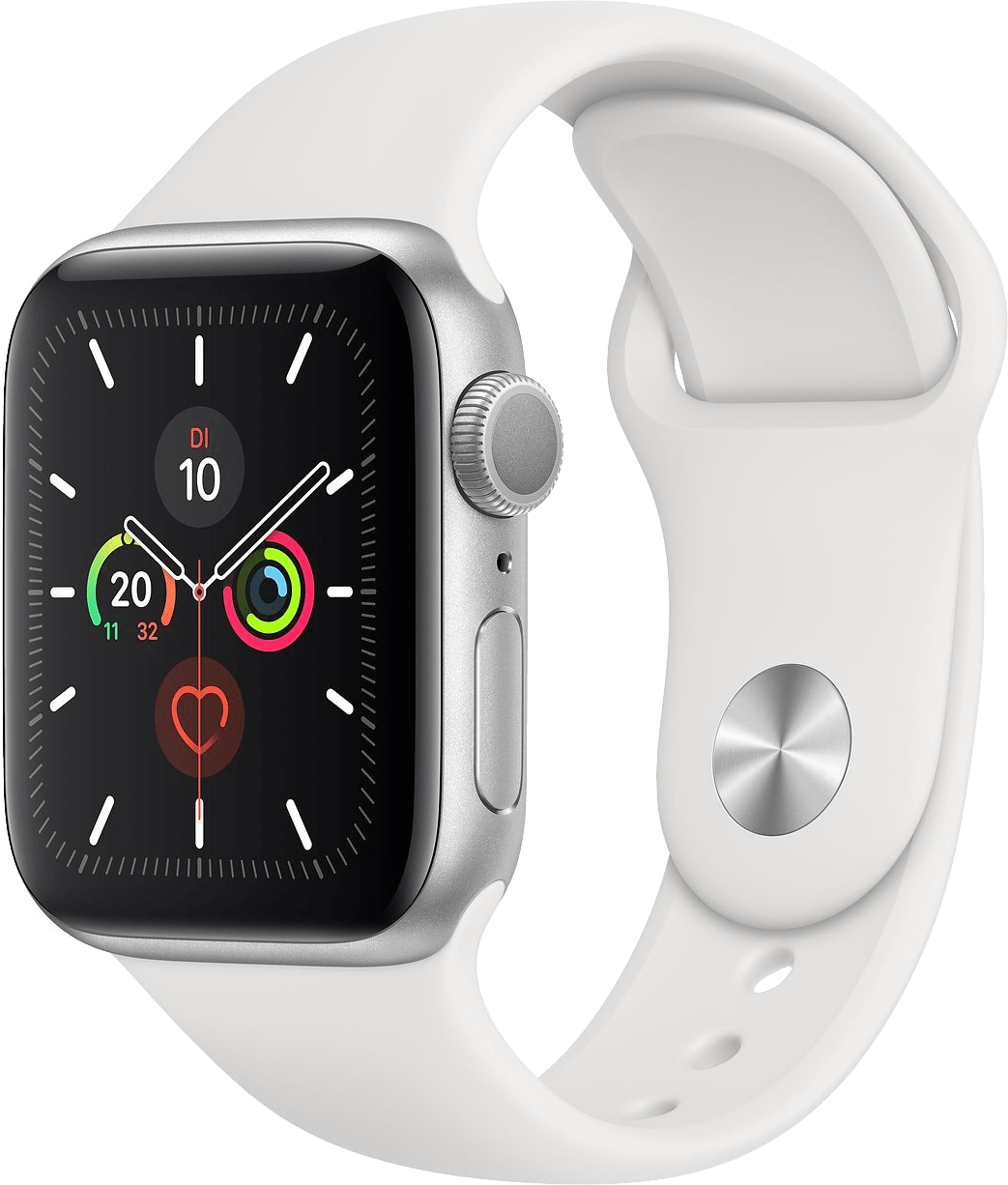 Weiß Apple Watch Series 5 GPS, 44mm.2