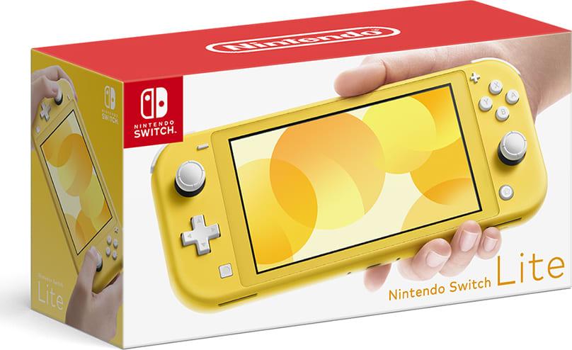 Yellow NINTENDO Switch Lite.3