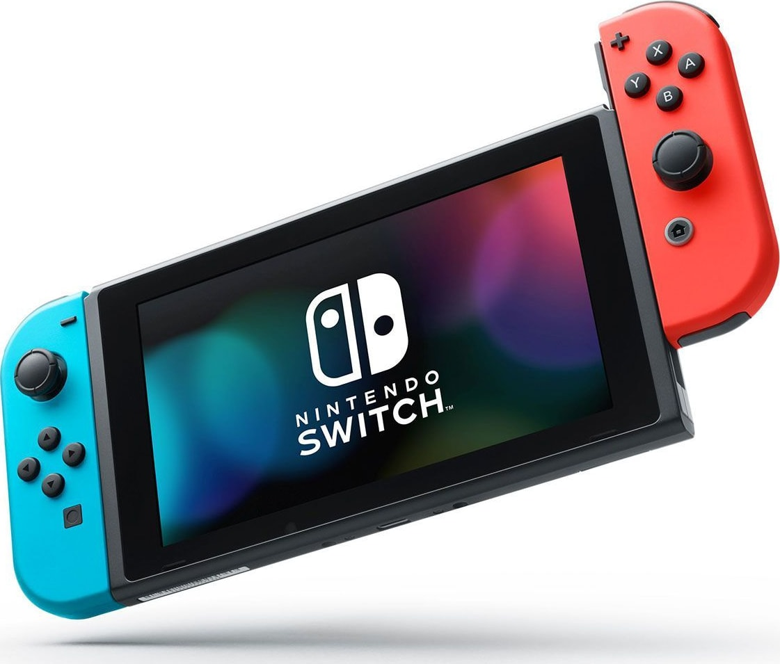 Neon Red / Neon Blue Nintendo Switch (2019 Edition).4
