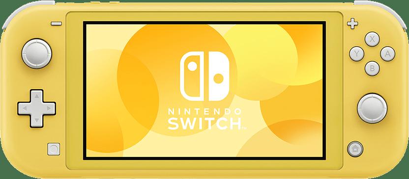 Yellow NINTENDO Switch Lite.1