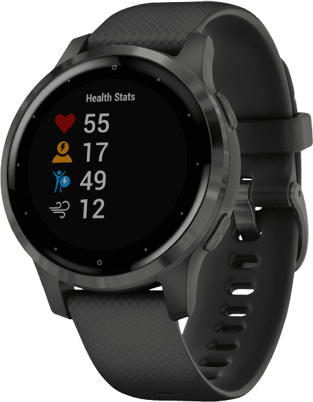 Black Garmin Vivoactive 4s GPS Sports watch.3
