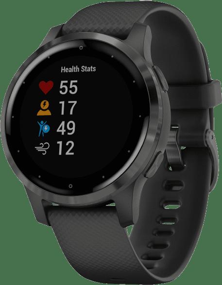Black Garmin Vivoactive 4s.3